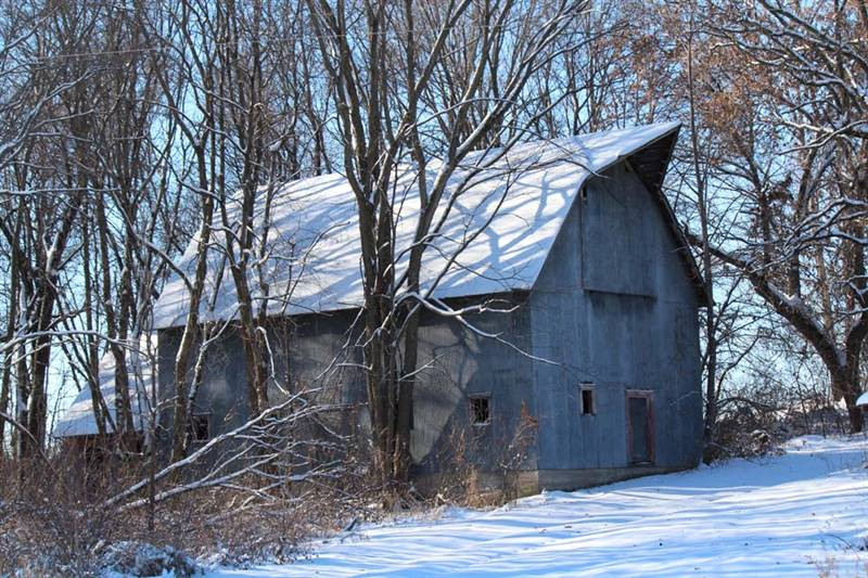 rustic metal barn